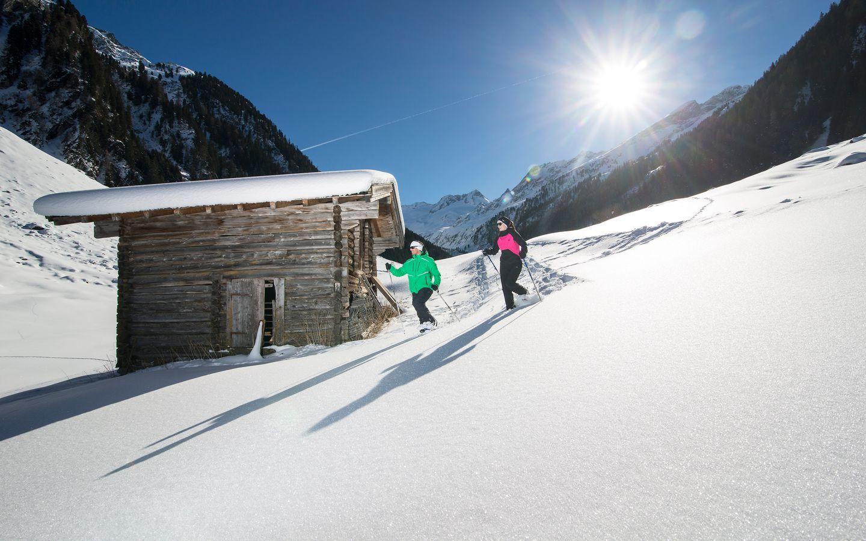 Schneeschuhwandern Schönachtal | © Zillertal Arena / Johannes Sautner