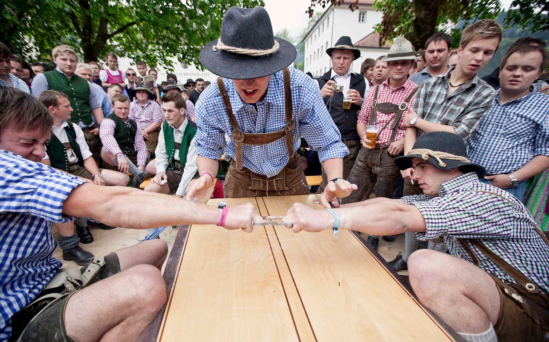 Gauder-Sechskampf - Sehenswerte Wettkämpfe rund um die Traditionen der Landwirtschaft und Brauerei