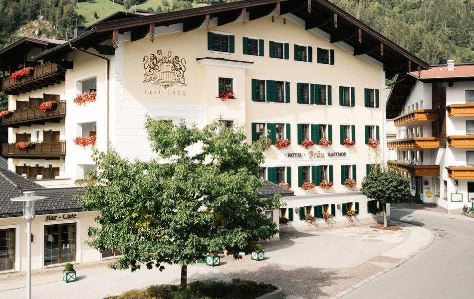 Hotel Bräu im Sommer