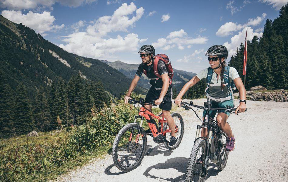 E-Bike | © Zillertal Arena / Johannes Sautner